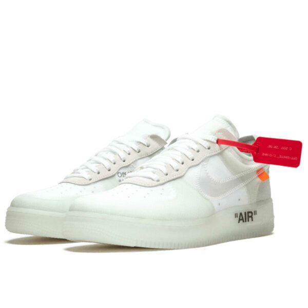 off-white x nike air force 1 low the ten AO4606_100 купить