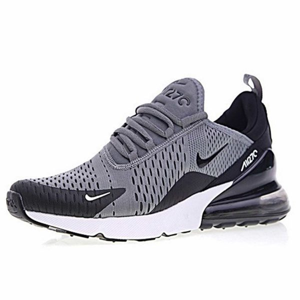nike air max 270 black grey купить