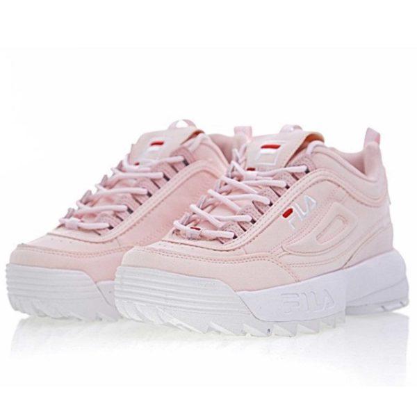 Fila disruptor 2 pink and white купить
