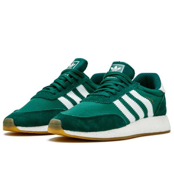 adidas iniki runner green BY9726 купить