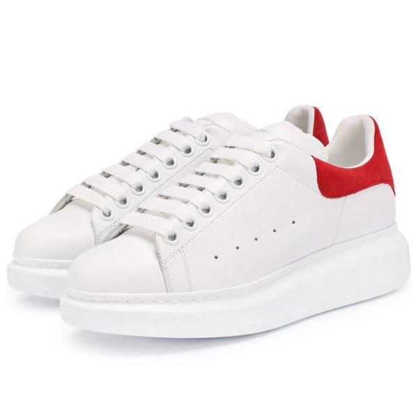 alexander mcqueen white red 462214/WHGP7 купить