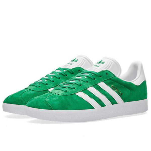 adidas gazelle green купить