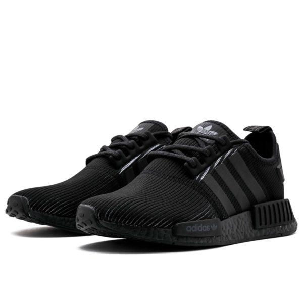 adidas nmd r1 triple black by3123 купить