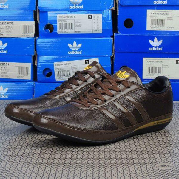 adidas porsche design S3 brown gold 473955 купить