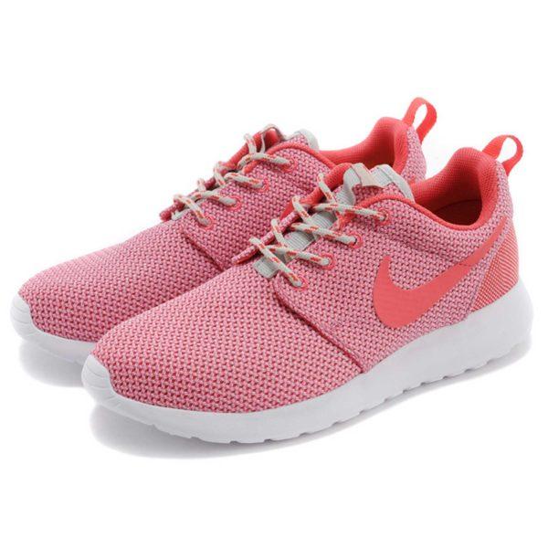 nike roshe run trainer coral 511882_018 купить