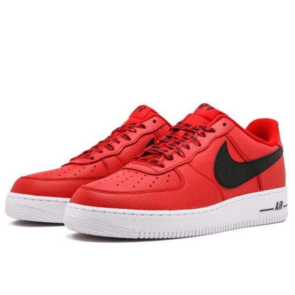 nike air force1 '07 lv8 red black 823511_604 купить