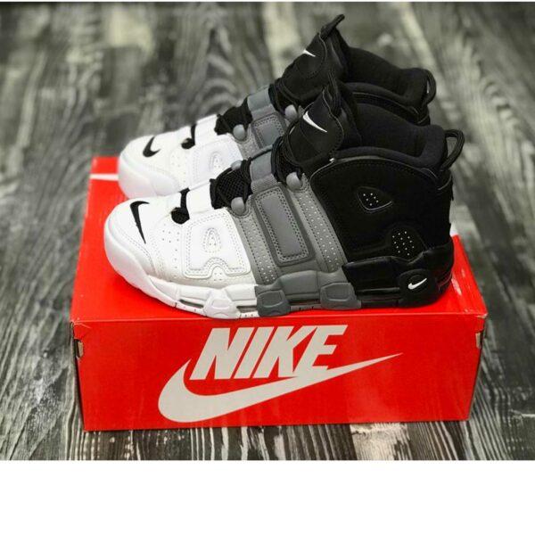 nike air more uptempo 96 black grey white 921948_002 купить