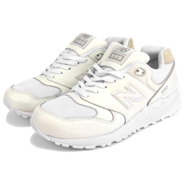 new balance 999 white lether wl999bgw купить