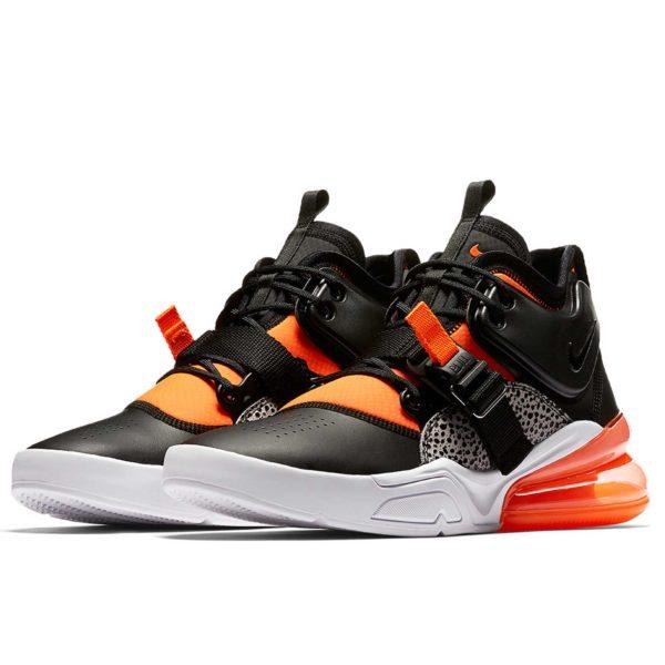nike air force 270 black orange AH6772_004 купить