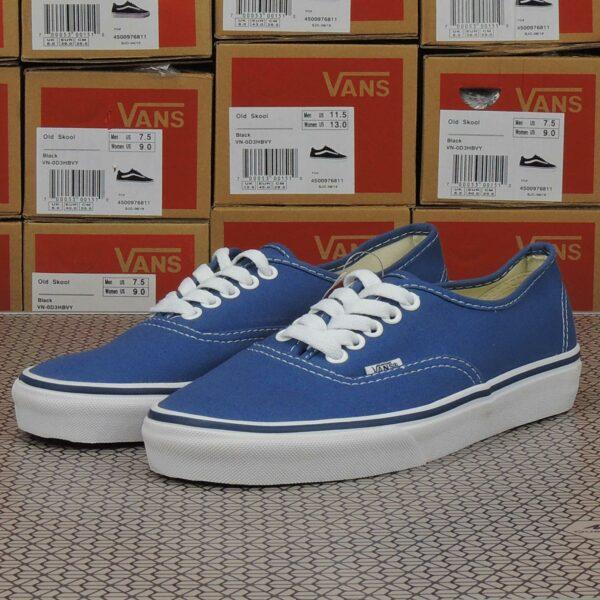 vans authentic blue white купить