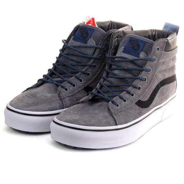 vans sk8-hi grey blue купить