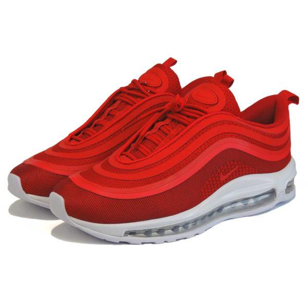 nike air max 97 red white купить