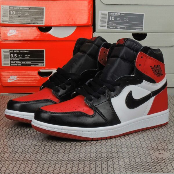 Jordan 1 retro high bred toe купить