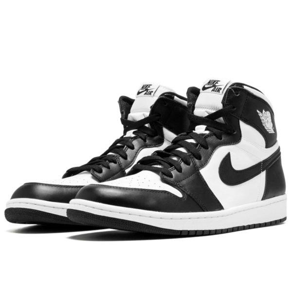 Jordan 1 retro high og white black 555088_010 купить