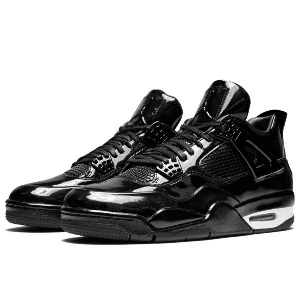 air Jordan 4 11Lab4 black white 719864_010 купить