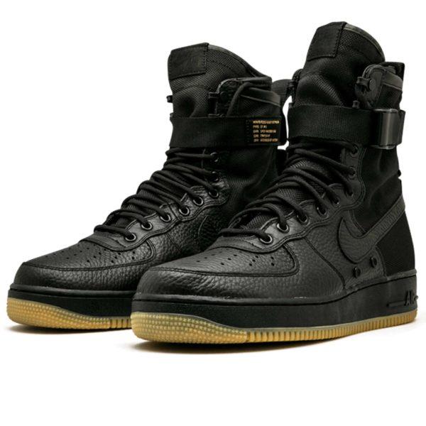 nike sf air force 1 black 864024_001 купить