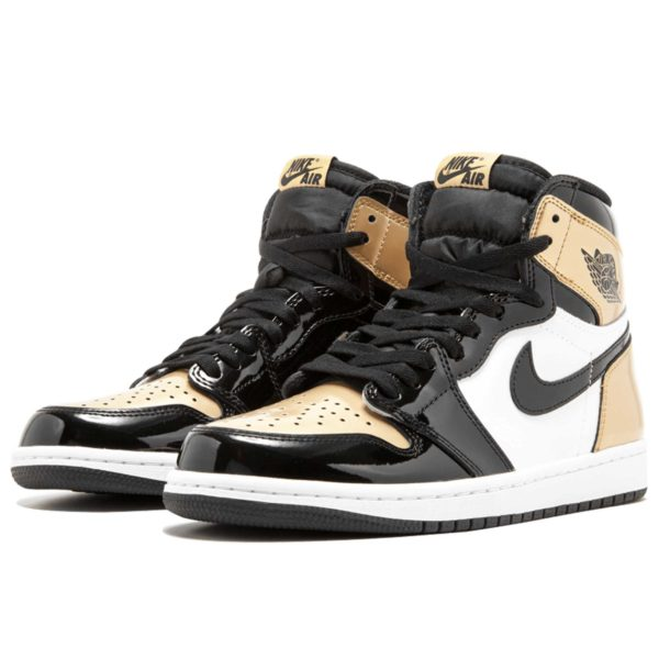 air Jordan 1 retro high og blackgold 861428_007 купить