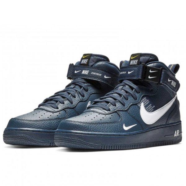 nike air force 1 mid 07 lv8 dark blue 804609_403 купить