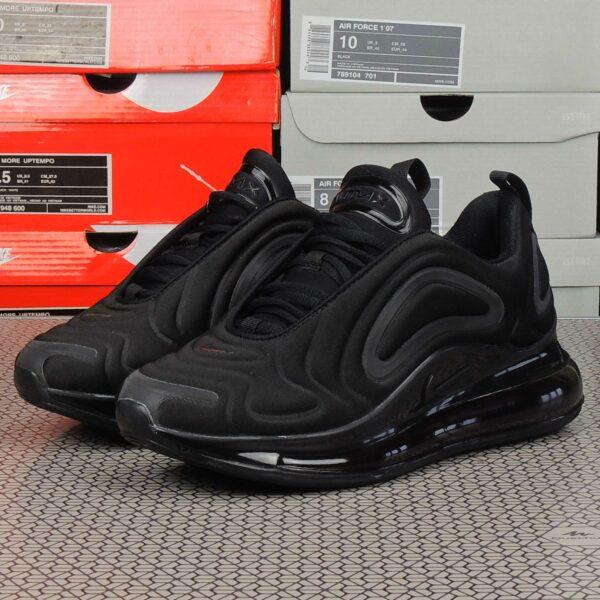 nike air max 720 triple black ao2924_004 купить