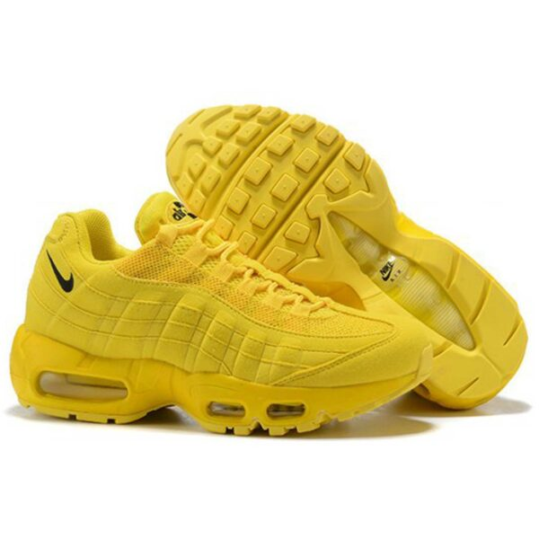 nike air max 95 all yellow купить