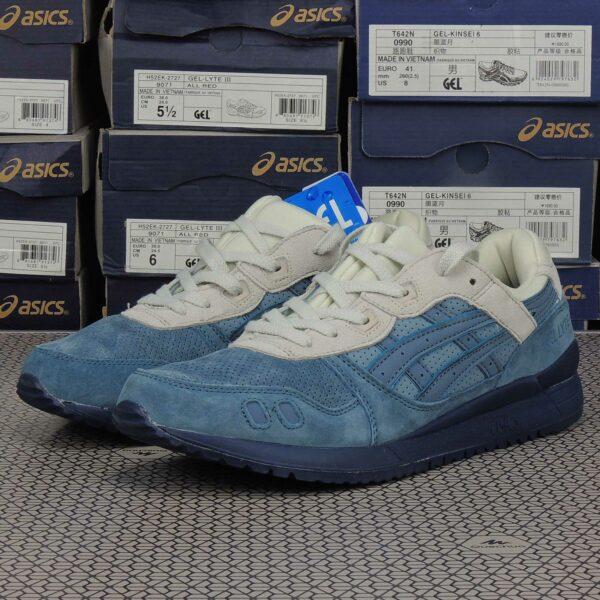 asics gel lyte lll 3 blue mirage H6W0L_4646 купить