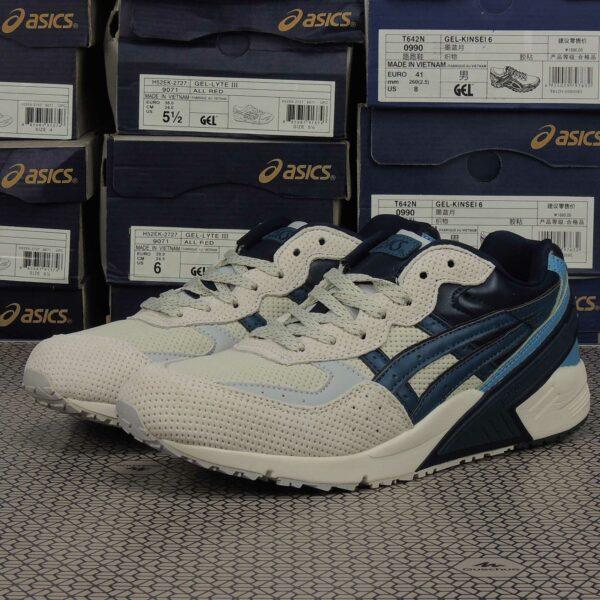 asics gel-sight beige blue h50ck_9950 купить