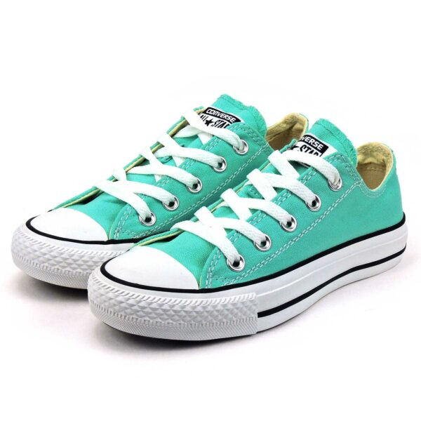 converse all star OX light green 142377C интернет магазин
