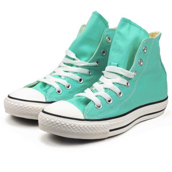 converse all star hi light green 142367c купить