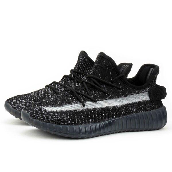 adidas yeezy boost 350 v2 black silver ef2905 купить