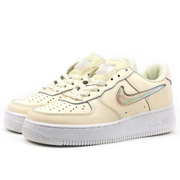 интернет магазин nike air force 1 07 se prm beige white AH6827_100