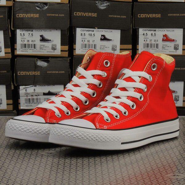 converse chuck taylor all star hi red 101013 купить