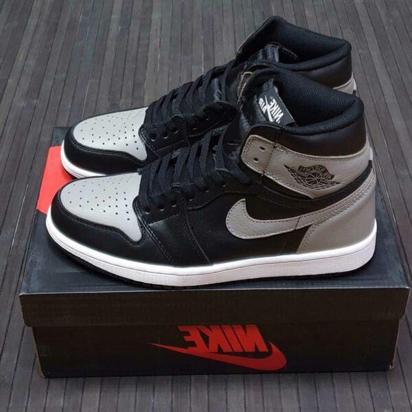 nike air Jordan 1 retro high og shadow black grey 555088_013 купить