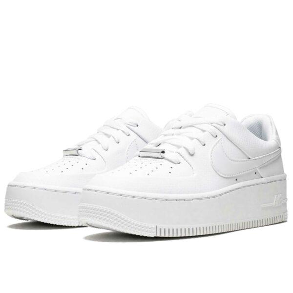 nike air force 1 sage low triple white AR5339_100 купить