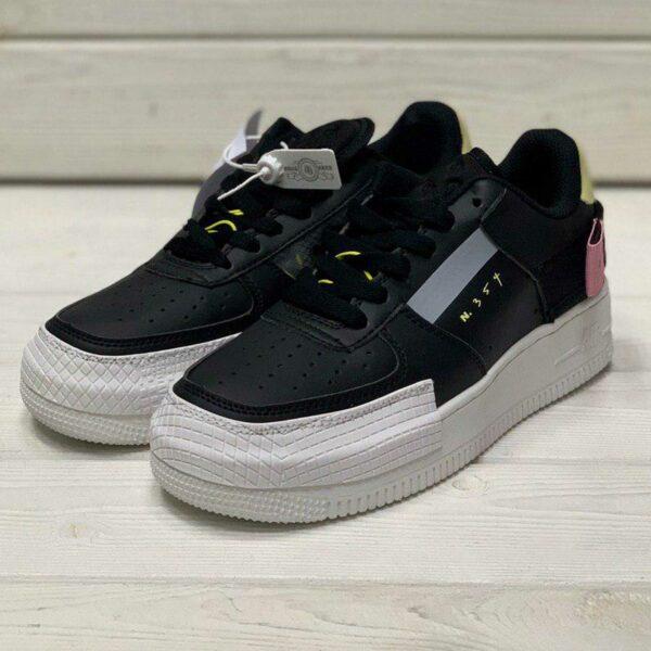 nike air forсe 1 type black CI0054_001 купить