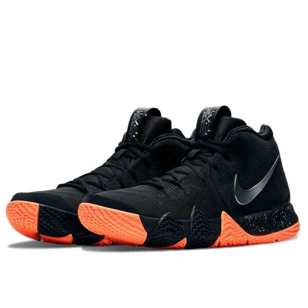 nike kyrie 4 black orange 943806_010 купить