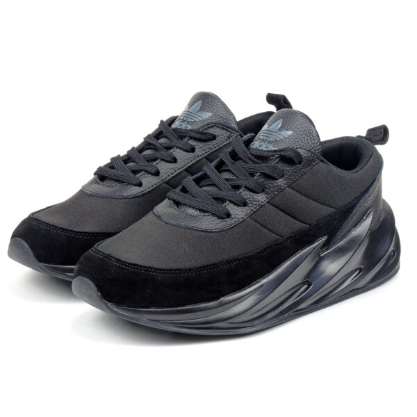 adidas sharks concept boost triple black f33855 купить