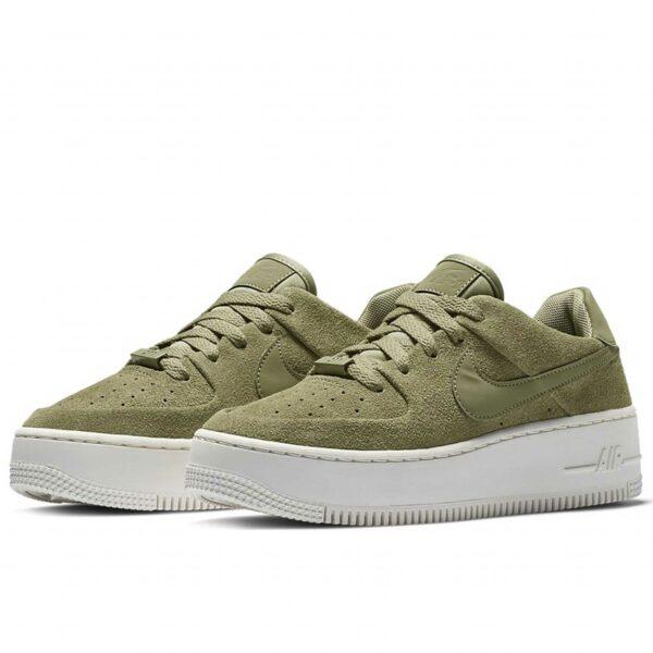 nike air force 1 sage low olive купить