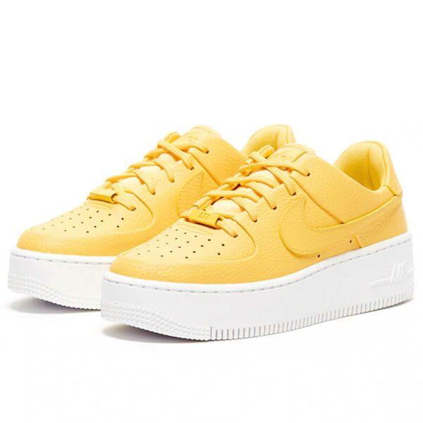 nike air force 1 sage low yellow AR5339_700 купить