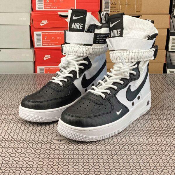 nike air force 1 sf white black 864024_100 купить
