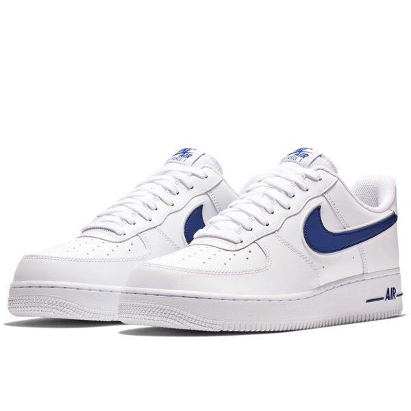 nike air force 1 white blue AO2423_103 купить