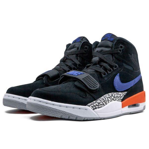 nike air Jordan legacy 312 black blue AV3922_048 купить