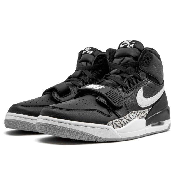 nike air Jordan legacy 312 black cement AV3922_001 купить