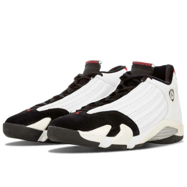 nike air Jordan 14 white black 311832_162 купить