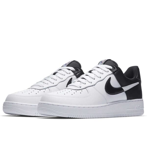 nike air force 1 '07 LV8 NBA black white купить