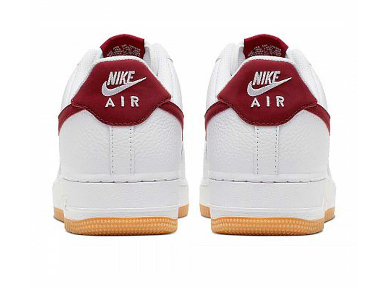 nike air force 1 low white red gum Cl0057_101 купить