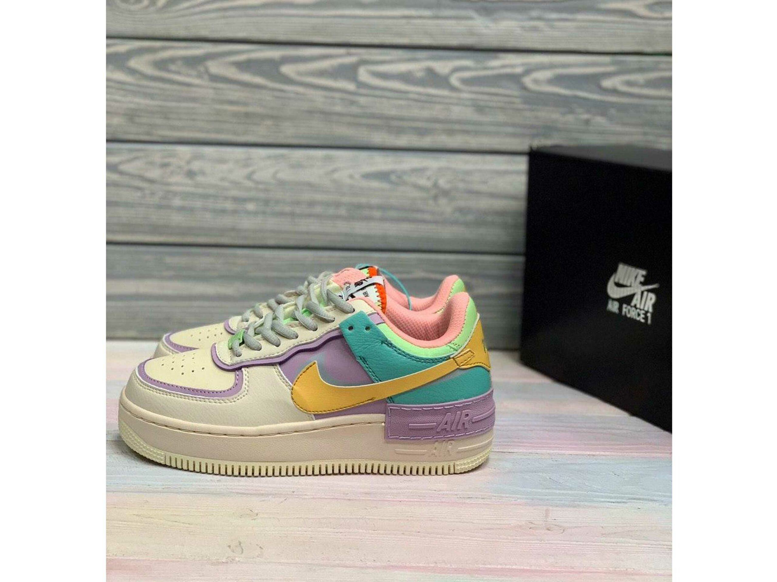 Nike Air Force 1 Shadow Pastel Multi Ci0919 101 Krossovki Sadovod
