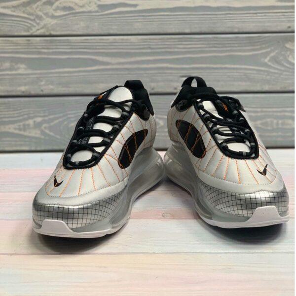 nike air max 720-818 metallic silver black total orange BV5841_001 купить