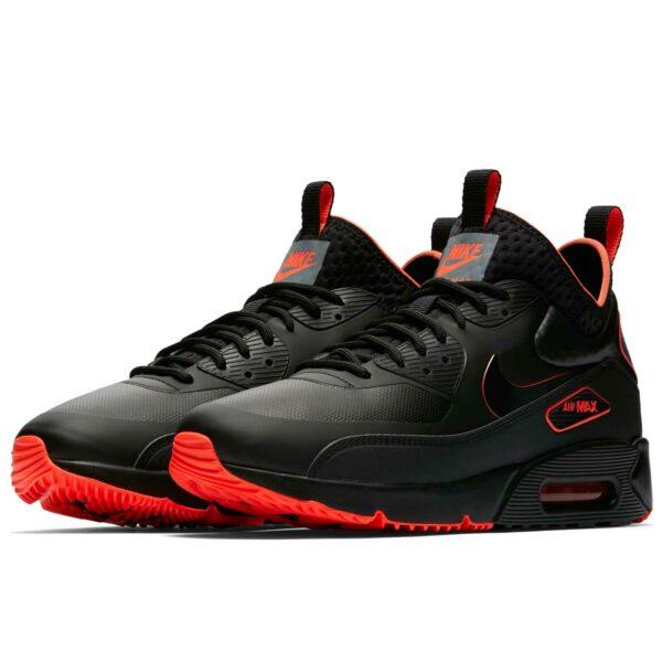 nike air max 90 mid black red AA4423_001 купить