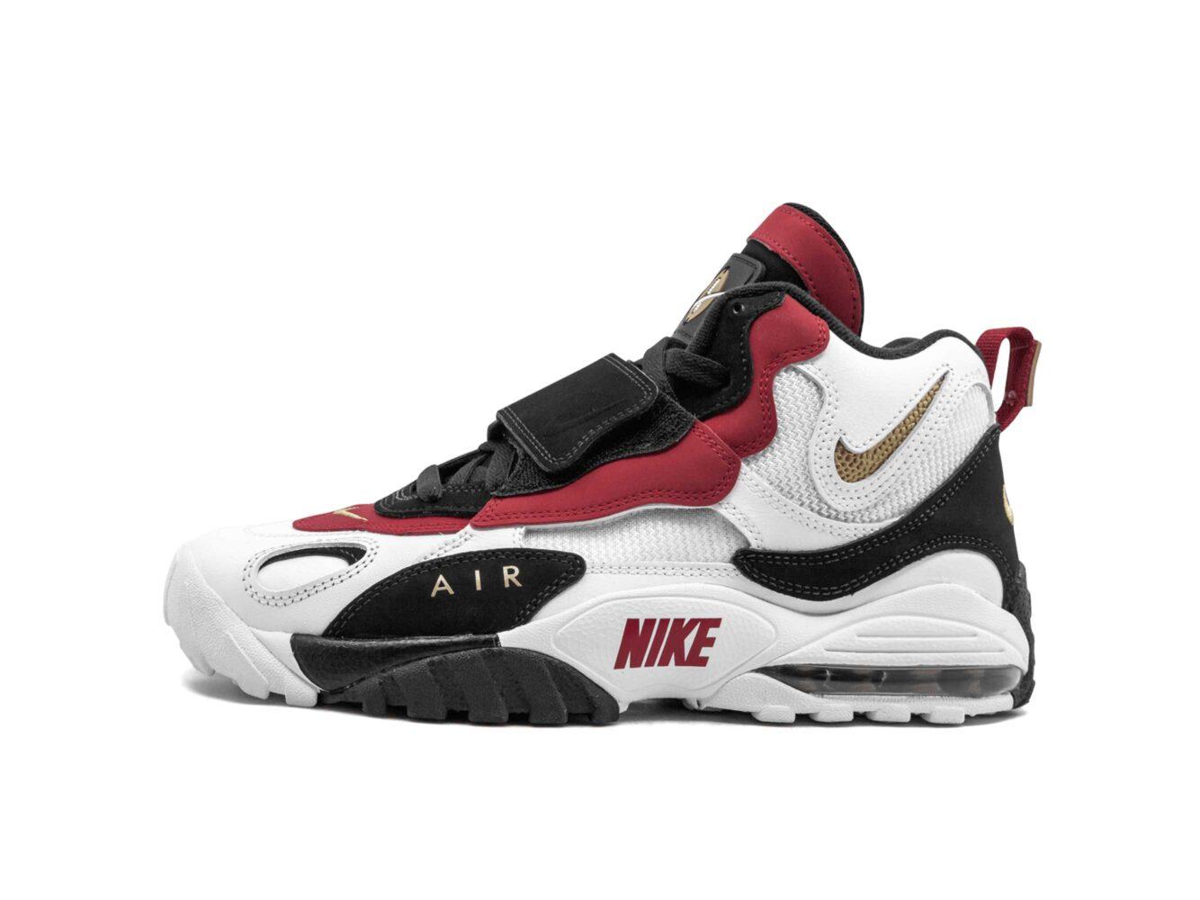 nike air max speed turf white red 525225_101 купить