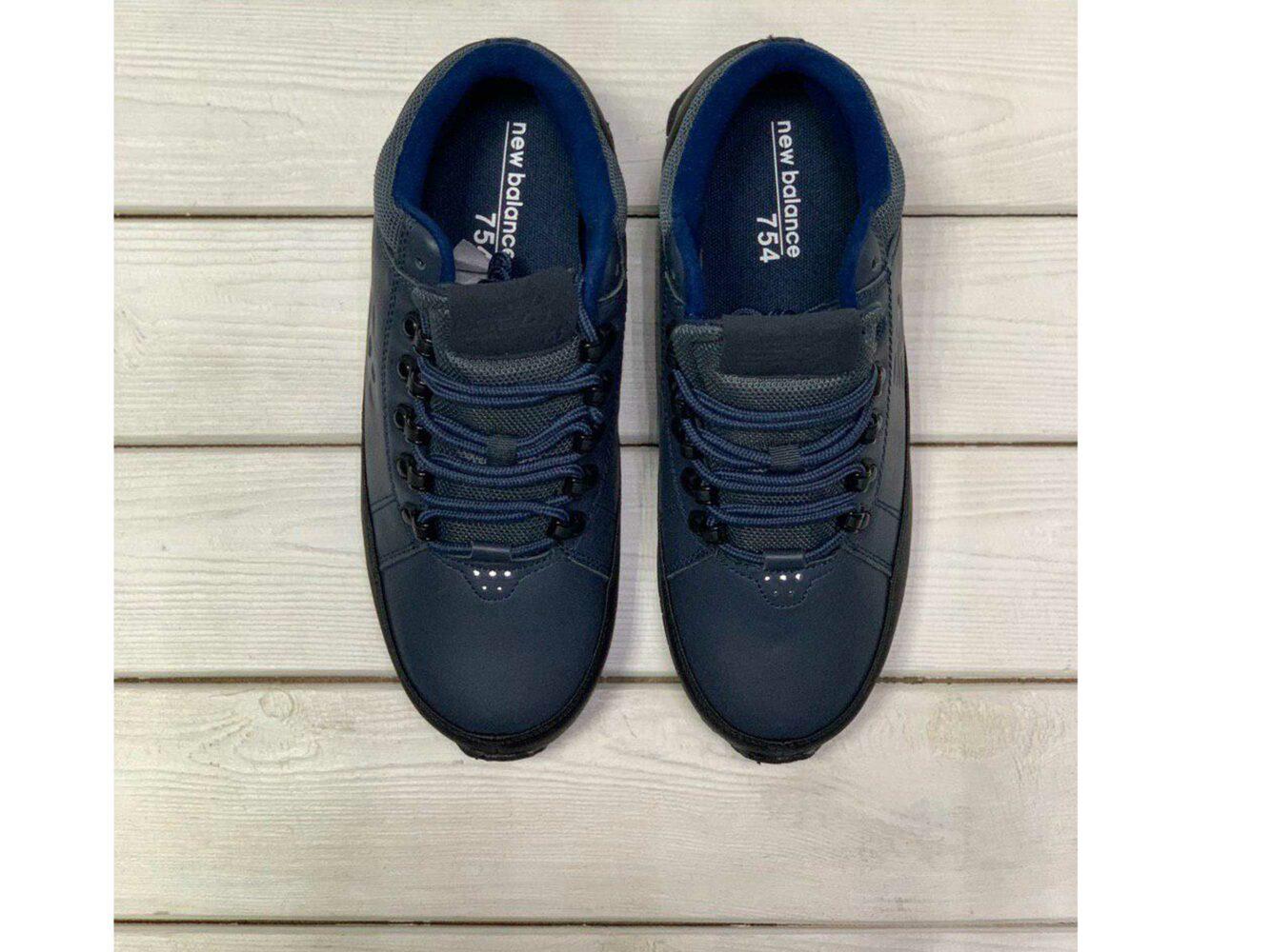 new balance 754 dark blue купить